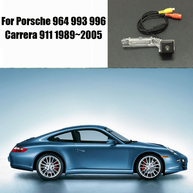 Rear View Camera Car Parking Reverse For Porsche 964 993 996 Carrera