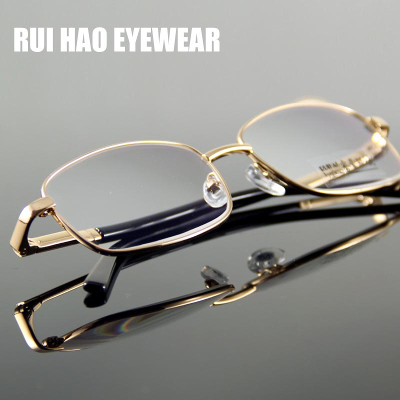 Gafas de lectura claras Hombres Mujeres Gafas de presbicia 0.50 ~ 5.00 Anti UV CR-39 Lente HMC Recubrimiento de lectura Anteojos Rui Hao Eyewear