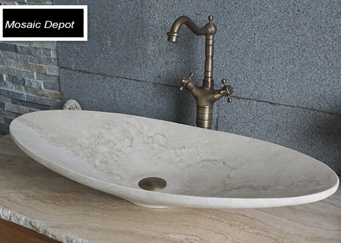 Oval Travertine Sinks Bathroom Stone Basin Countertop Sinks Vanity Sink Bowl  Natural Stone Vessel Bathroom Washbasin On Alibaba Group