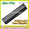 Apexway alta qualidade 4400 mah bateria do laptop hstnn-xb0q 582215-241 para hp touchsmart tm2-1000 tm2 tm2-2000 tm2-2100 tm2t-2000