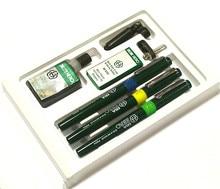 Аутентичные герой рисунок ручки 020407 высокое качество pepeated заполнения чернил иглы Hero 81A