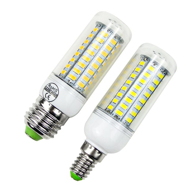 230V 220V LED Light 5730 Stairs Corridor Cabinet Lamp E27 E14 LED Bulbs Kitchen Living Room Chandelier Desk Lamp