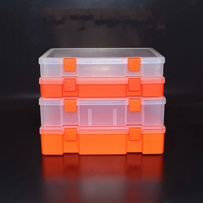 Transparent plastic boxes, metal tools, boxes of parts, component boxes, stationery, bills, box finishing accessories
