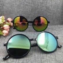 Hot Lente Rodada Óculos De Sol das mulheres Do Vintage Clássico Retro Revestimento óculos de Sol Óculos Redondos TOU01-TOU09