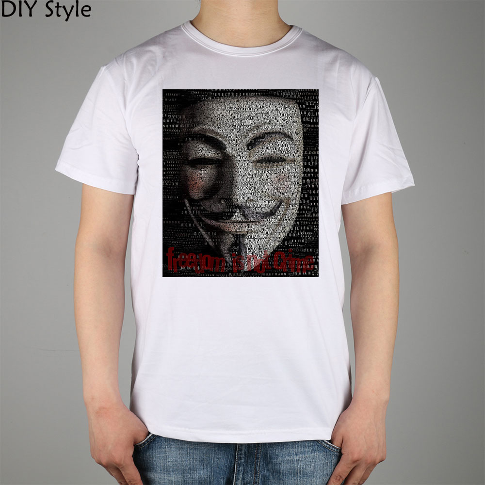 Anonymous names top 1000 baby boy and girl names in USA T-shirt Top Lycra Cotton Men T shirt New Design High Quality