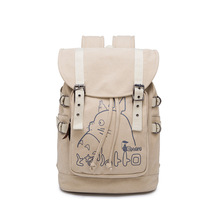 My Neighbor Totoro Cartoon Canvas Backpack Laptop Bag Casual Bag