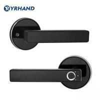 Fechadura biométrica da porta do fechamento da impressão digital do semicondutor, fechadura eletrônica automática da porta de segurança