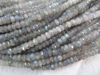 wholesale genuine labradorite beads 3x5mm 2strands 16inch strand ,high quality rondelle abacus faceted blue jewelry beads