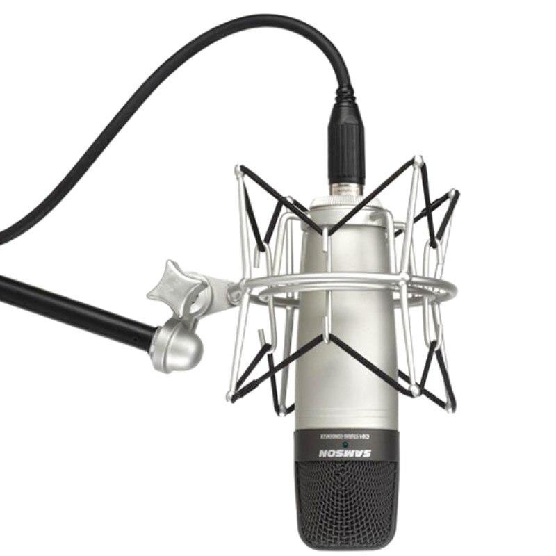 Samson SP01 Shockproof Suspension Spider Studio Microphone Shock Mount Holder Clip Clamp Stand For Samson CL7