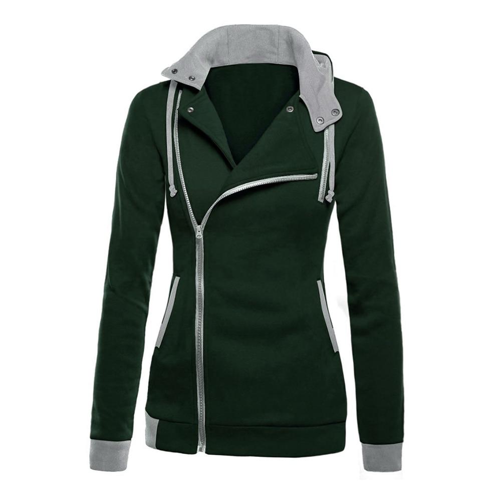 Spring Autumn Long Sleeve Women Hoody Suit Sweatshirt Hood Tracksuit Sportswear Female Clothing Zipper Polerone Sweat Femme 2016