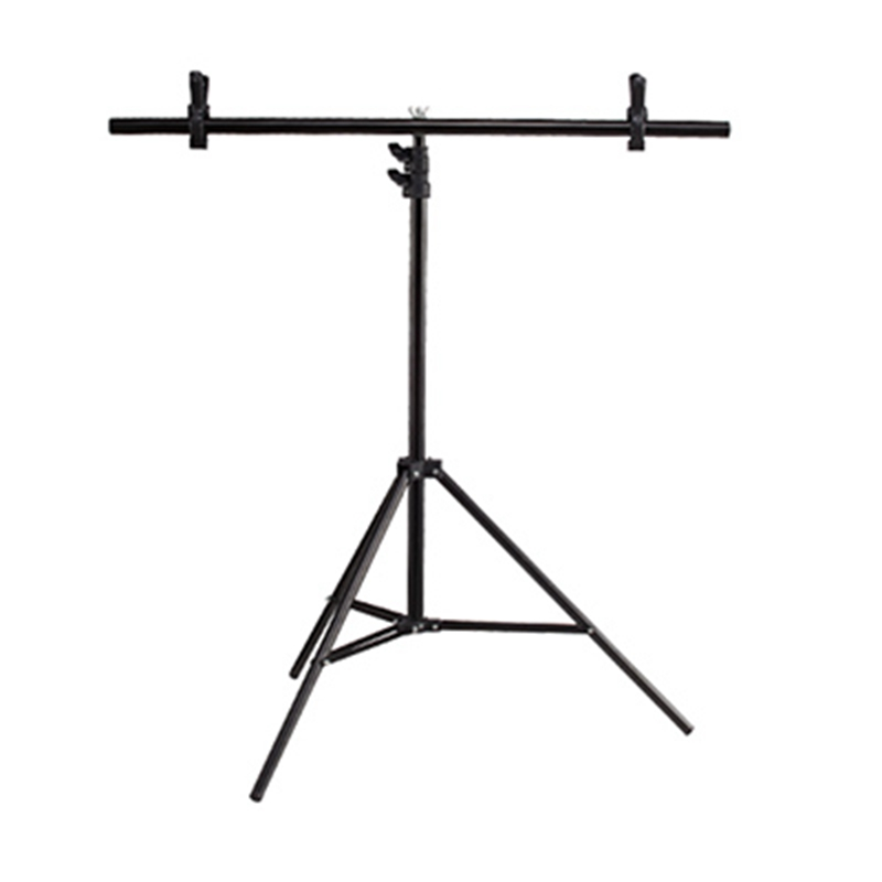Background Photography backdrop background Aluminum Tripod stant holder with Cross Bar with Clip