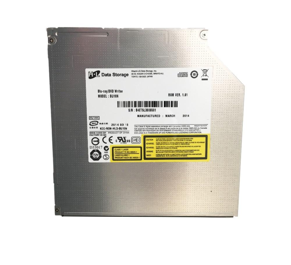 bu 10 - HL BU10N BU20N 9.5mm SATA 6X 3D Blu-ray Burner BD-RE DL Dual Layer Bluray Writer Super Slim Laptop Internal SATA Optical Drive