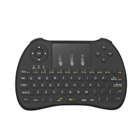 Mutilfunction 2.4G Wireless keyboard with Touchpad Air Mouse Rechargeable Remote Control Touchpad Keyboard For Android  TV Box