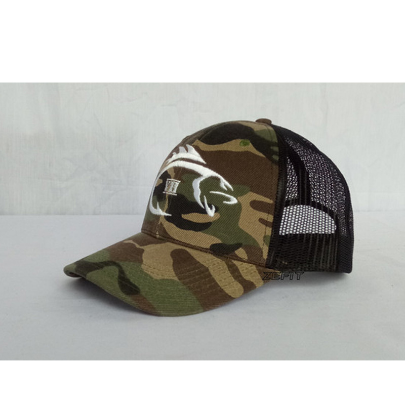 af88693e49e Full Customization Trucker Baseball Caps Custom Embroidery Printing Logo  BLack Mesh Curved Brim Hats Adult Kids Size -in Baseball Caps from Apparel  ...