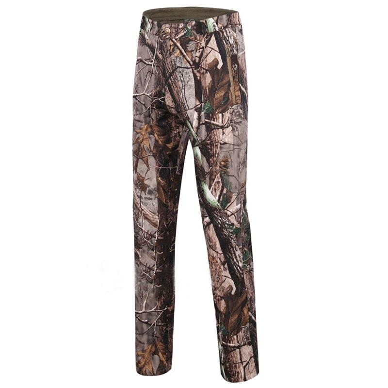Vêtements de Camouflage/chasse en plein air Realtree peau de requin coque souple respirante coupe-vent imperméable à capuche chasse/randonnée costumes - 5