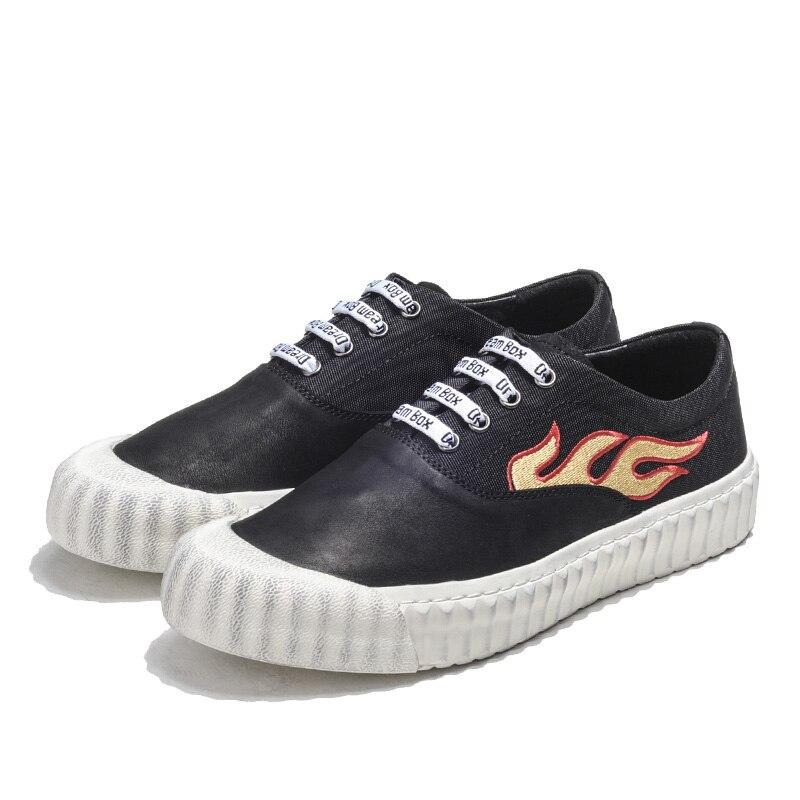 Heinrich Schoenen Sapatas Sapatos resistant Homens Redondo Lace Confortáveis Dos Wear Shoes up Preto Pé Respirável Do Dedo Lona Casuais Heren Flat De rqfH4wrz