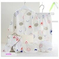 5pcs Set Newborn Gift Cartoon 100 Cotton Underwear Baby Clothing Set Boy Girl Clothes T7