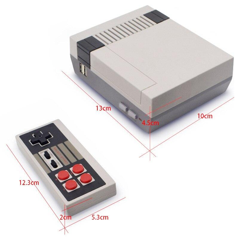 8 bits rétro Console de jeu vidéo intégré 620 jeux Mini TV Console de jeu lecteur de jeu portable meilleur cadeau pour les enfants