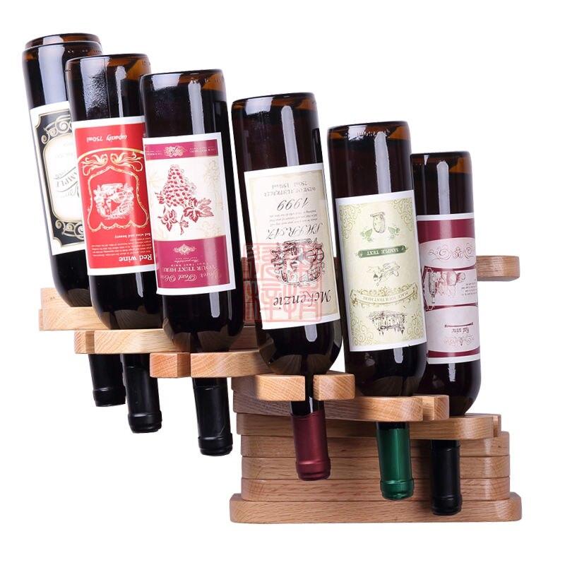 деревянный держатель для бутылки вина