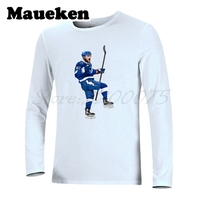 Nikita KUCHEROV 86 From Russia Tampa Bay Long Sleeve Men T Shirt Clothes T Shirt Men's Autumn Winter W17101209