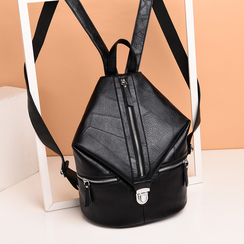 Women Backpack Leather Backpack For Teenage Girls Multifunction Female School Shoulder Bag Backpack