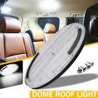 12 w 30led interior do carro cúpula luz auto 12 v interior led teto luz de leitura para barco rv caminhão|Lâmpada de sinal| |  -