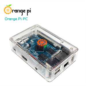 Image 4 - Orange Pi PC SET3 :  Orange Pi PC + ABS Transparent  Case + 4.0MM   1.7MM USB to DC power cable