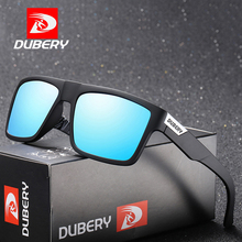 DUBERY Brand Design Polarized Sunglasses Men Driver Shades Male Sun Glasses For Spuare Colorful Summer UV400 Oculos D918