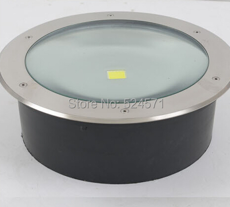 factory direct sale Free shipping 50W COB LED underground light IP68 Buried recessed floor outdoor lamp  AC85-265V free shipping ip68 10w 20w 30w 50w led cob underground light cob inground light diameter 250mm ac85 265v led outdoor lamp