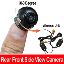 Wireless SONY CCD Chip Car SUV MPV rear reverse front side view camera 360 degre