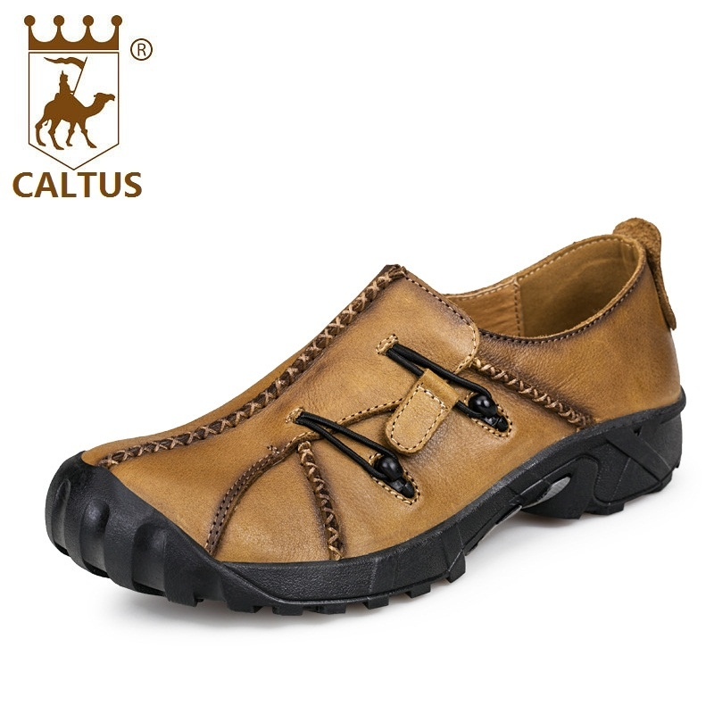Caltus Dress Shoes For Men Breathable New Fashion Men Genuine Leather Loafers Good Quality Working Shoes AA20571 casual shoes men breathable new fashion men dress shoes good quality working shoes size 38 44 aa30064