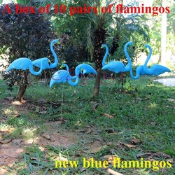 10 pairs blue plastic lawn flamingos decorative arts and crafts garden accessories decor ornaments wedding decoration.jpg 250x250