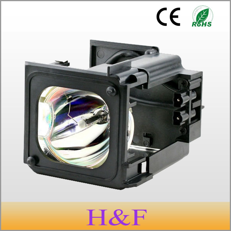 HoneyFly BP96-01795A Rear Replacement Projection Tv Lamp With Housing For Samsung HLT5676SX/XAA HLT5676SX/XAC HLT6176S HLT6176SX pureglare original tv lamp for samsung sp46l6hrx str with housing