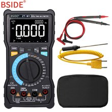купить Digital Multimeter BSIDE ZT-M1 Auto Manual Digital Multimeter TRMS 8000 3-Line Display VFC Tester по цене 2482.19 рублей