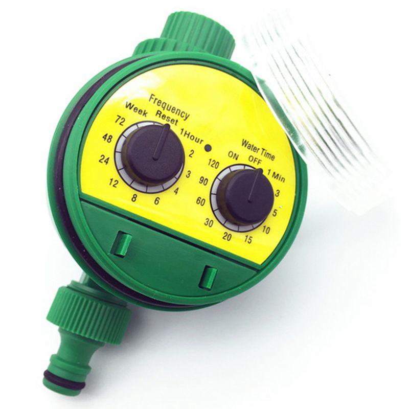 1 Pc Englisch Elektronische Intelligenz Garten Bewässerung System Timer Controller Wasser Programme Verbindung G3/4 Gewinde Wasserhahn