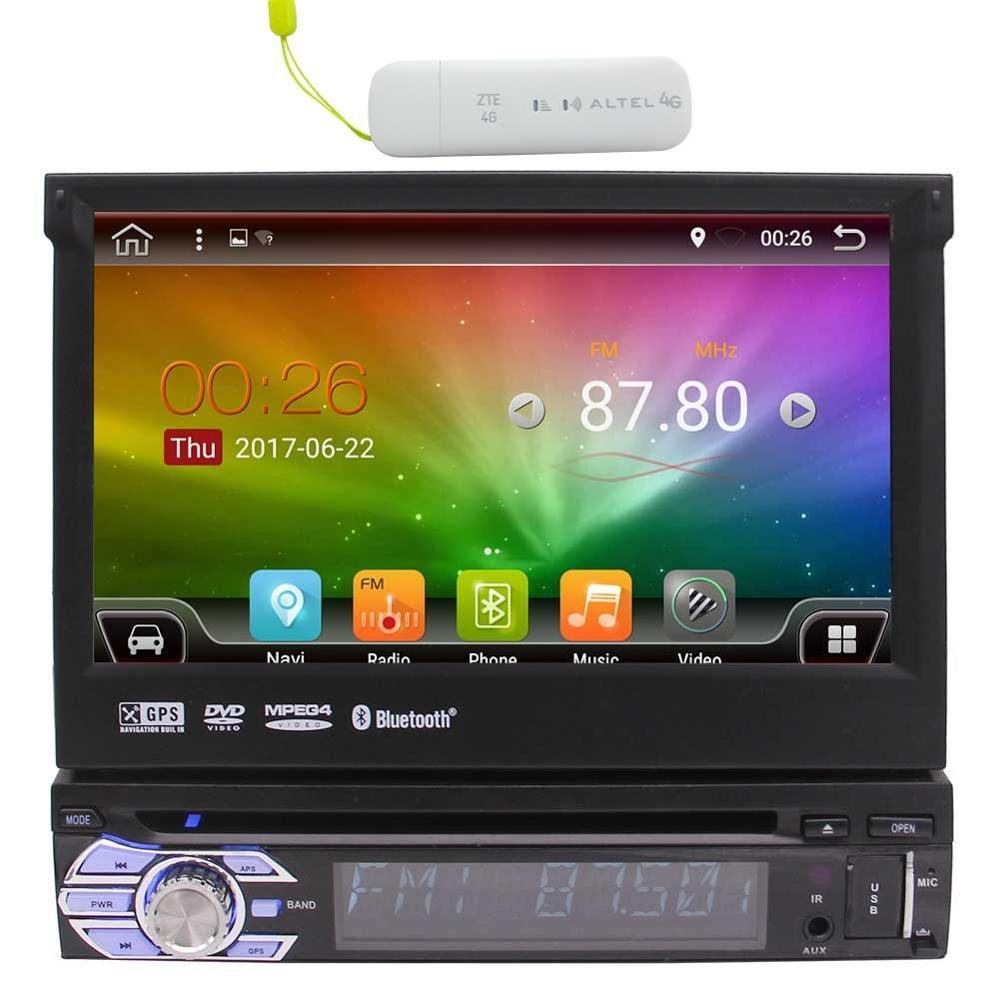 eincar android 6 0 single 1 din car dvd radio head unit. Black Bedroom Furniture Sets. Home Design Ideas