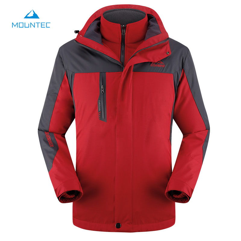 Mountec hiking clothing waterproof sport jacket mens for Waterproof fishing jacket
