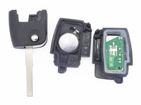 Repalcement Remote Key Fits For Ford Focus 433MHz NO Chip Car Smart Keyless Entry TRANSIT Transponder