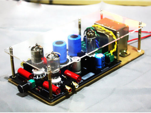 sep-store 6N3+6Z4 tube preamp Class A audio stereo preamplifier + transformer L155-29 арти м 26 см 594 087