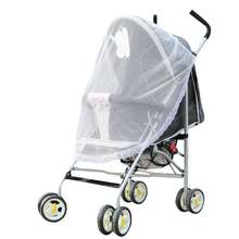 Baby Strollers Mosquito Net Baby Carriers Car Seats Cradles Baby Mosquito Net with Bandage Stroller Accessories Baby Care Props(China)