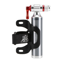 Bike Manual Inflator Bicycle Cycling CO2 Tire Inflator Portable Presta Schrader Twin Valve Emergency Inflator for Bicycle(China)