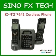 98% NOVO TELEFONE Original KX-TG7641T RESPONDES DIGITAL SEM FIO SISTEMA de TELEFONE KX-TG7641