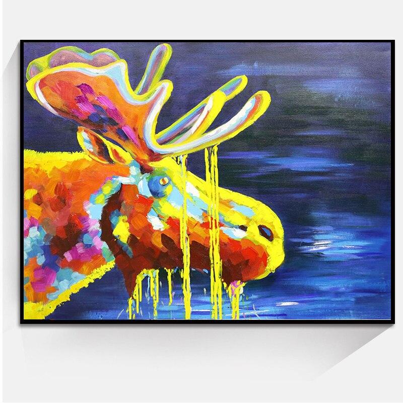 φ φmode 1 Avion Animal Art Peinture à L Huile Décoration De