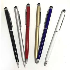 Top 10 ballpoint pen with touch pen brands universal capacitive touch screen stylus ballpoint pen for iphone gumiabroncs Images