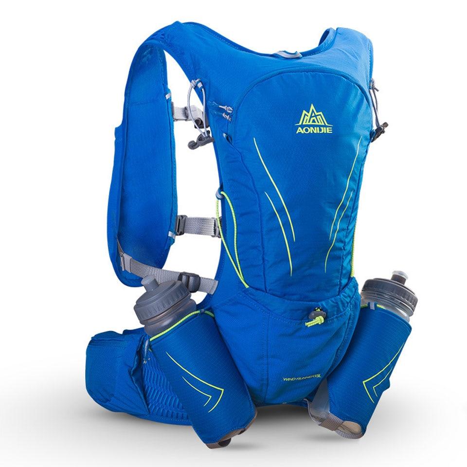 AONIJIE 15L femmes hommes Marathon hydratation gilet Pack pour 600 ML sac à eau cyclisme randonnée sac en plein air Sport course sac à dos