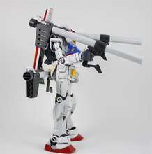 Królowa ogólna broń dla Bandai MG RG HG 1/100 1/144 RX 78 2 Gundam model