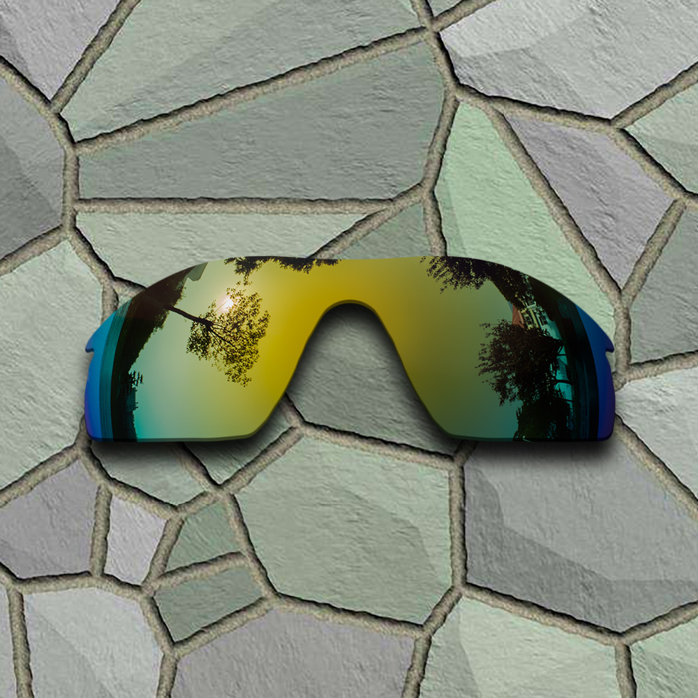 Yellow Golden Sunglasses Polarized Replacement Lenses for