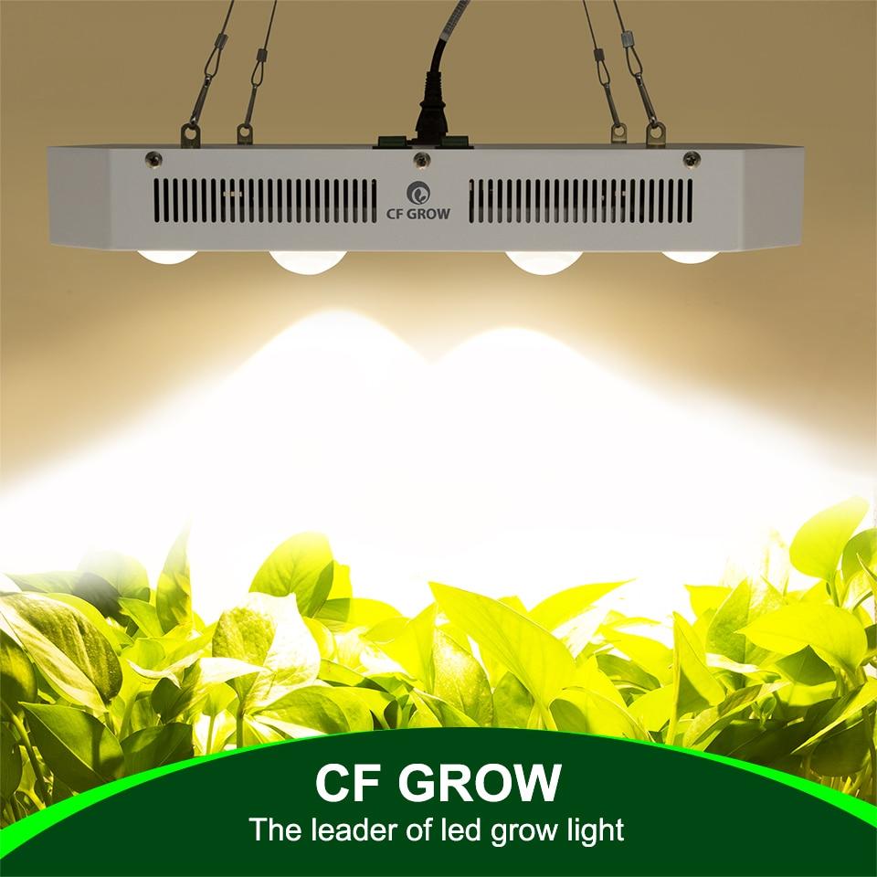 Citoyen CLU048-1212 COB LED Élèvent La Lumière 300 W 600 W 900 W Full Spectrum Serre Hydroponique Plante Qui Pousse Lumière Remplacer HPS Lampe