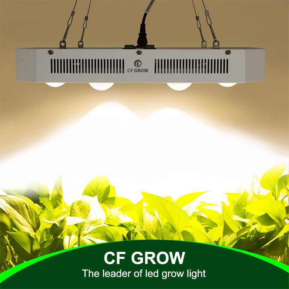 Citoyen CLU048-1212 COB LED grandir lumière 300 W 600 W 900 W spectre complet serre hydroponique plante croissance lumière remplacer HPS lampe