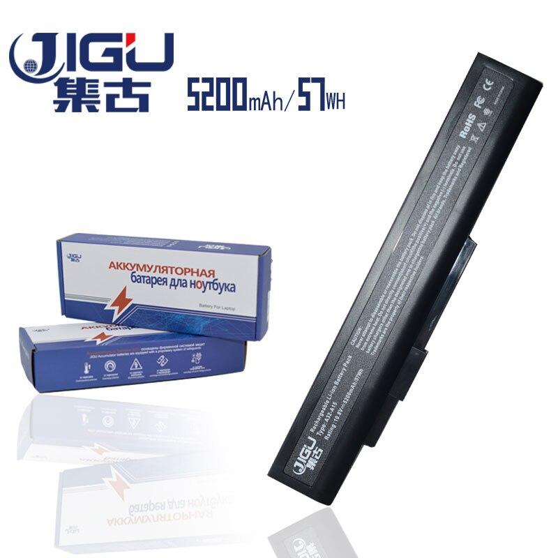 JIGU batería del ordenador portátil A32-A15 40036064 ForMsi A6400 CX640 (MS-16Y1) FUJITSU Lifebook N532 NH532 Gigabyte Q2532N DNS 142750 153734